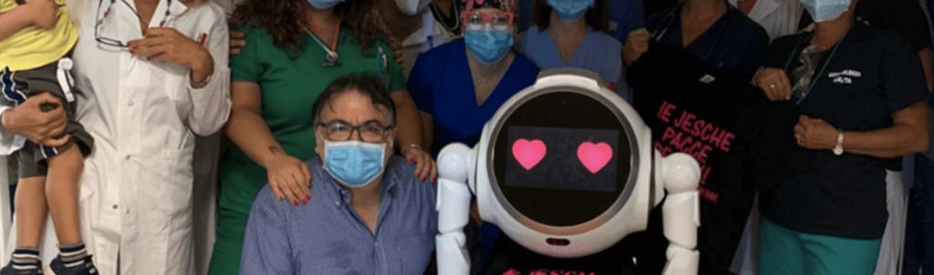 Ospedale Santissima Annunziata di Taranto, c'è la dottoressa delle emozioni